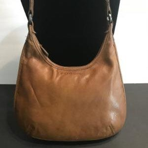 VINTAGE COGNAC LEATHER BAG